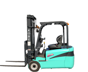 1-2T three wheel battery forklift
